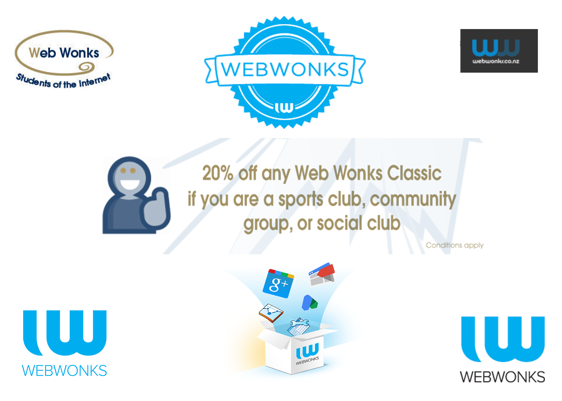 Web Wonks Logos